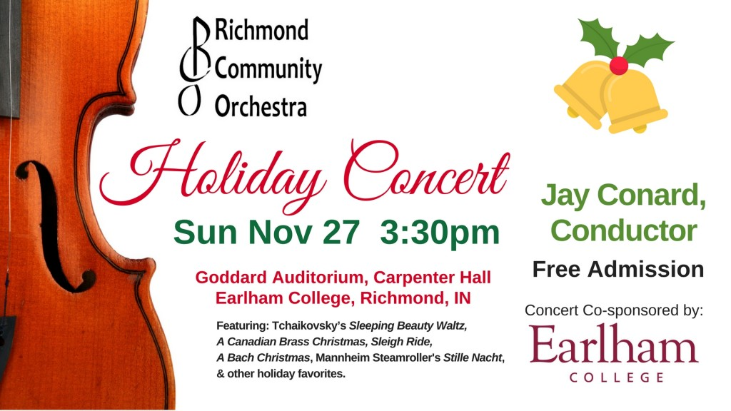 RCO Holiday Poster 2016